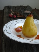 Modern Poached Pear