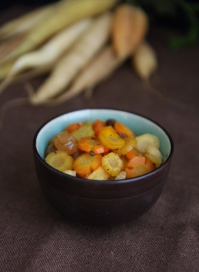 Roman Buttered Carrots