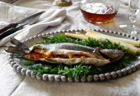 Freshwater Trout from Valabar's | Food Through the Pages